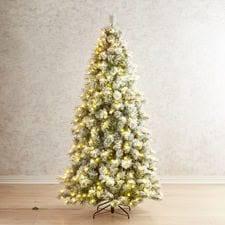 Slim Pre Lit Christmas Tree 75 by Pre Lit Artificial Christmas Trees Pier 1 Imports