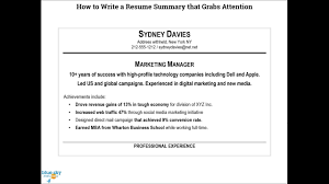 How To Write A Resume Summary Youtube For Examples Maxresde ... Entry Level Mechanical Eeering Resume Diploma Format Engineer Example And Writing Tips 25 Summary Examples Statements For All Jobs Crafting A Professional Writer How To Write Your Statement My Perfect 10 Writing Professional Summary Examples Samples Cashier Included 12 13 For Information Technology It Sample Genius Objectives Save Of Summaries Experienced Qa Software Tester Monstercom