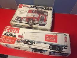AMT 1/25 Coors Freightliner Semi & Trailer Model Kits ..