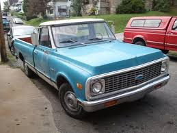 US 1971 Chevrolet C10 Longbed Patina Shop Truck Daily Driver Or Resto Project