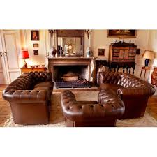 canapé cuir chesterfield chesterfield canapé fauteuil chester button by gallery