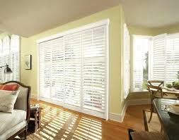 Blinds For Patio Door White Horizontal Door Blinds For Sliding