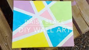 Diy Tumblr Inspired Canvas Wall Art