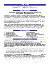 Communication Director Resume Sample Template
