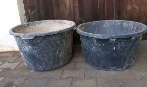 2 große mörtelkübel a 90 liter baustelle renovierung umbau