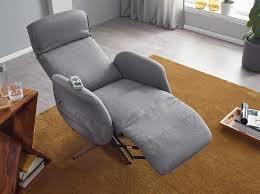 wohnling relaxsessel mit massagefunktion hellgrau stoff ruhesessel elektrisch verstellbar sessel mit liegefunktion bequemer entspannungssessel