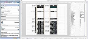 Rittal Cabinets Visio Stencils by Data Center Rack Diagram Builder Periodic U0026 Diagrams Science