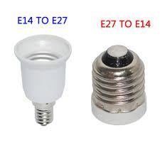 high quality led e27 to e14 base led adapter e14 to e27 socket