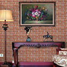 Chinese Style 3d Antique Brick Pattern Self Adhesive Wallpaper Living Room Study Background Stone Home Decor I Hd Wallpapers