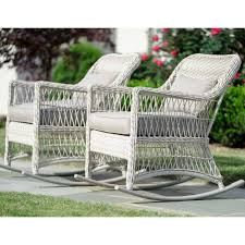 White Wicker Outdoor Dining Sets Settee Furniture Patio Set ...