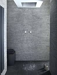 white floor tile with light grey grout bathroom contemporary by