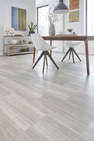 Light Gray Indoor Wood PVC Click Flooring