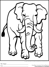 Coloring Page African Animals AZ Pages