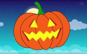 Funny Pumpkin Carvings Youtube by Jack O U0027 Lantern Song Halloween Pumpkin For Children Kids U0026 The