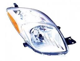 2006 2008 toyota yaris front headlight left driver side 2007