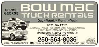 Bow Mac Truck Rentals - Opening Hours - 1959 1st Avenue, Prince ... 2004 Ford F250 Lariat Pick Up Truck Extended Cab Cold Ac Lic Image Of Pickup Rental Seattle Pickup For The Visa Rentals Sales Leasing Opening Hours 5540 3 Ave Edson Ab Enterprise Moving Cargo Van And 8 Foot Pickup Trucks Rent By Hour Or Day With Fetch Opens First Montana Location Hiring A Diesel Single Ute In Auckland Cheap From Jb Free Unlimited Miles No Caps On You Drive Your Premier Ptr Fort Wayne In