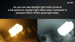 energy saving spiral colour temperature comparisons warm white v