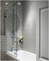 white subway tiles gray endearing white and gray tile bathroom