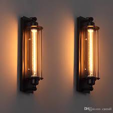 2018 loft vintage wall ls american industrial wall light edison