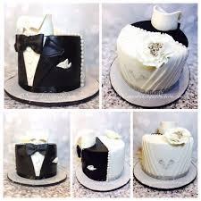 Half Wedding Dress Half Tuxedo Cake cake by Cake D By Niqua