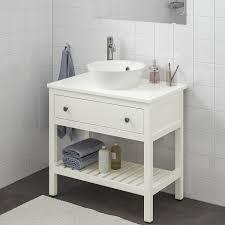hemnes kattevik open sink cabinet with 16 sink white
