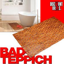 bambus badvorleger badteppich 80 50cm discountbros günstiger geht nicht
