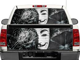 Anonymous Rear Window OR Tailgate Decal Sticker Pick-up Truck SUV ... Gmc Sierra Sierra Rally Rally Edition Hood Tailgate Vinyl Graphic Dodge Ram 4x4 Tailgate Lettering Decal F150 Silver Lower Panel Accent 1517 52019 Toyota Tacoma Tailgate Letters Rear Bed Lettering Trd Large Skull Stripes Full Color Side Discontinued Factory Decals Stripe Kits Logos Firefighter First In Truck Wrap Etsy 2018 Models Pretty Rage Power Wagon Rage Digital Style Striping Chevrolet Product Chevrolet Truck 2016 Stamped Sticker