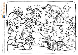 Coloriages à Imprimer Père Noël Numéro 687081