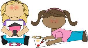 Kids Coloring Clip Art