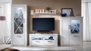 Anbauwand Wohnzimmer Mã Bel Wohnwand Anbauwand Wohnzimmer Wohnkombi In Pinie Weiß