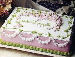 Birthday Cake Square Choco