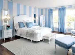 Bedroom Ideas Blue And White Light Decorating Home