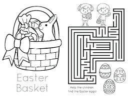 Free Printable Easter Coloring Sheets Book Pages Disney
