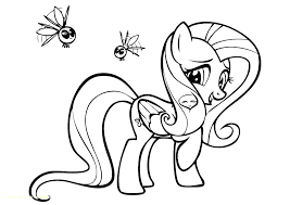 My Little Pony Printable Coloring Pages Baby With Colouring