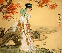 Pics For Japanese Paintings On Silk