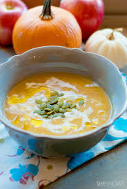 Pumpkin Bisque Recipe Vegan by You U0027ll Never Believe This Roasted Pumpkin And Fresh Apple Soup Is