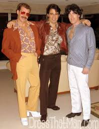 70s DISCO OUTFITS For WILD MEN