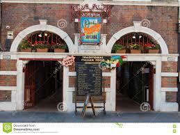 100 The Portabello Portobello Garden Arcade Restaurant London UK