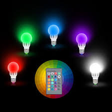 e27 3w rgb led 16 multi color magic l light bulb wireless