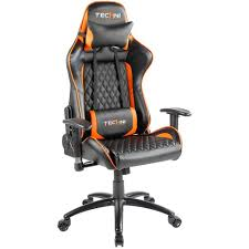 Techni Sport Ergonomic High Back PC Gaming Chair - Orange Merax Orange High Back Gaming Chair With Lumbar Support And Headrest Cougar Armor S Luxury Breathable Premium Pvc Leather Bodyembracing Design Mid Century Modern Highback Lounge Revive Modern In Highback Swivel Black With Racing Style Ergonomic Office Desk By Morndepo Xl Executive Ribbed Pu Computer Gothic Inspired Velvet Throne Task Global Ding Chairs Upholstered Angelic Vini Furntech Gromalla Mesh Akracing Nitro Robus High Back From Stylex Architonic Video Bucket Seat Footrest Padding