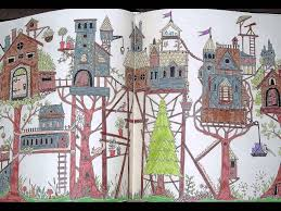 I Colour In Enchanted Forest An Inky Quest Colouring Book By Johanna Basford