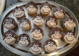 Monkey Birthday Cake Image Detail For Kiddo Project Kids Party Cupcake Ideas