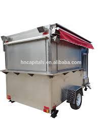 100 Snack Truck Fashionable Design Mini Mobile Store Food Trailer Van