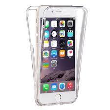 coque iphone 5 5s silicone gel integrale avant arrière transparent