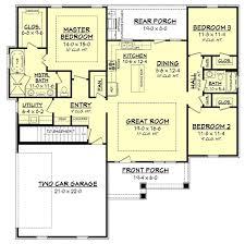 One Level House Floor Plans Colors Best 25 Ranch House Plans Ideas On Pinterest Ranch Floor Plans