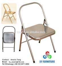 Backless Metal Yoga Folding Chairs Wholesale - Buy Yoga Chairs ... 100 Pcs Polyester Round Folding Chair Covers Whosale Discount Cloth Folding Chairs Canvas Folding Chairs Canopy White Resin Padded Prices Metal Chair Covers Buildourselvesinfo With Easy Handle Buy Free Shipping Plastic Stacking On Sale Wedding Party Blush Spandex Stretch Cover Bamboo Used My Blog Ding Titan Premium Rental Style 730lb Capacity
