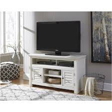 W662 28 Ashley Furniture Idonburg White Medium Tv Stand