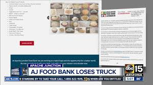 Apache Junction Food Bank In Need Of Help Apache Junction Food Bank Desperate For Dations After Refrigerated Suspect Crashes Stolen Truck Into Home Intertional Trucks In Az For Sale Used Chamber Of Commerce Pickup Only Delightful Work Truck News Dodge Ecodiesel Classic American 1961 Mack B61 Editorial Image The Witches Inn Custom Rig Wins Big At Mats 2018 Trucks Only Cars Dealer Elegant Features 1948 1960 Fargo Desoto 2003 Gmc Topkick C4500 Arizona Carrying Budweiser Clyddales Stock Public Surplus Auction 2120314