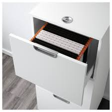 Locking File Cabinet Ikea by Galant File Cabinet White 51x120 Cm Ikea