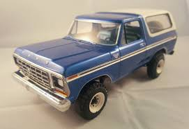 AMT 1979 Ford Bronco - Under Glass: Pickups, Vans, SUVs, Light ...